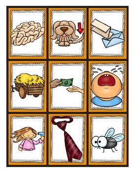 Rhyming Memory Game