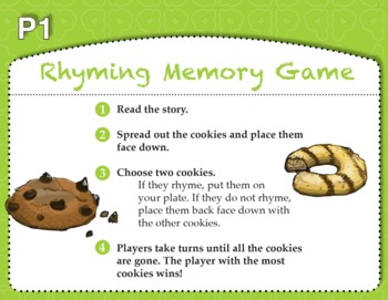 Rhyming Memory Game with Cookies