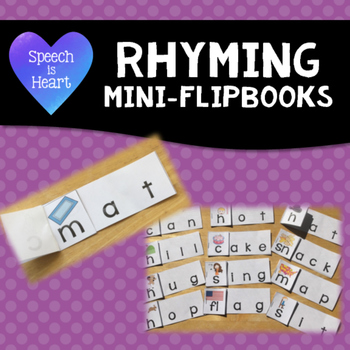 Rhyming Mini-Flipbooks