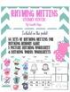 Rhyming Mittens Literacy Center