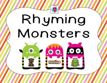 Rhyming Monsters
