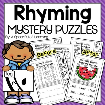 Rhyming Mystery Puzzles