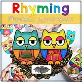 Rhyming Owls Phonological Awareness Game