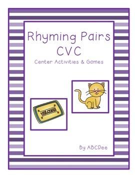Rhyming Pairs CVC