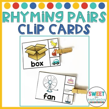 Rhyming Pairs Clip It