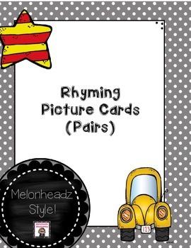 Rhyming Pairs Melonheadz Style