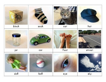 Rhyming Pairs with Photographs