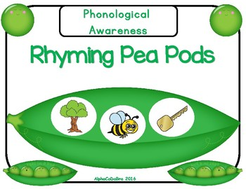 Rhyming Pea Pods