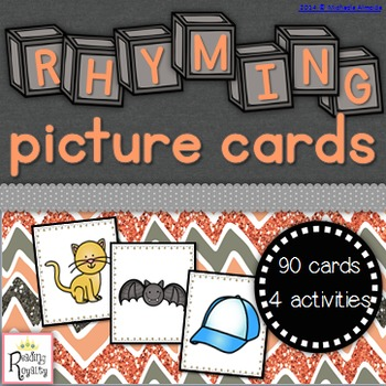 Rhyming Picture Cards (90 Cards!)