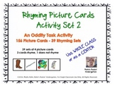 Rhyming Picture Cards Activity Set 2
