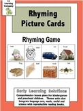 Rhyming Picture Cards Games