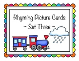 Rhyming Picture Cards - Set Three