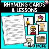 Rhyming Picture Cards and More!