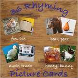 Rhyming Picture Cards with Real Photos