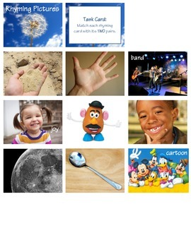 Rhyming Pictures (RF 1.2, L 1.5a)