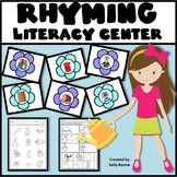 Rhyming Pictures - Flower Theme