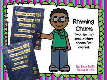 Rhyming Pocket Chart Songs/Chants