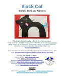 Black Cat - Rhyming Poem and Activities