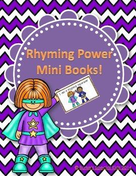 Rhyming Power Mini Books