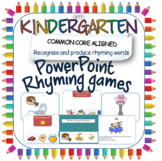 Rhyming PowerPoint activities; an introduction to rhyming