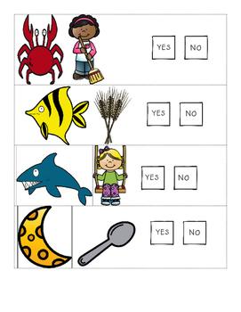 Rhyming Practice - Phonological Awareness Skills Test - Skill #2