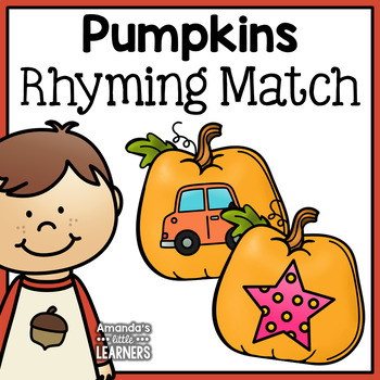 Fall Rhyming Match