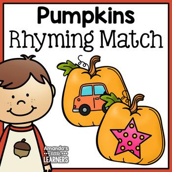 Fall Rhyming Match