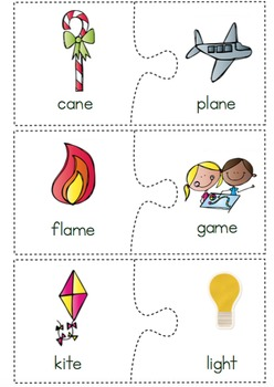Rhyming Puzzle Sort