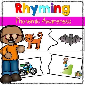 Rhyming Puzzles Fun Game for Kindergarten