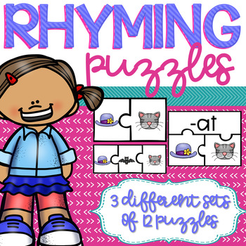 Rhyming and Word Family Puzzles