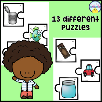 Rhyming Puzzles Hands on Center