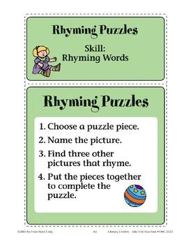 Rhyming Puzzles (Rhyming Words)