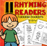 Rhyming Readers Foldable Booklets CVC Words