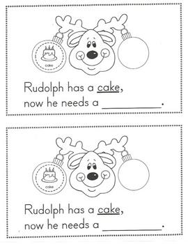 Rhyming Reindeer Book