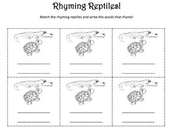 Rhyming Reptiles