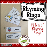 Rhyming Rings (Picture Word Cards)