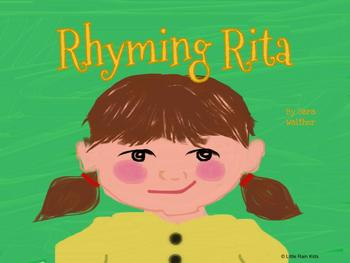 Rhyming Rita- RHYMING WORDS story and activities, Powerpoint