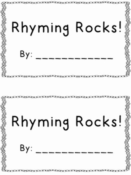 Rhyming Rocks!