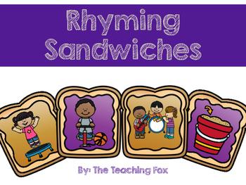 Rhyming Sandwiches