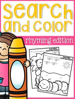 Rhyming Search and Color