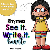 Rhyming See it Write it Bundle