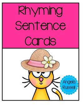 Rhyming Sentence Cards