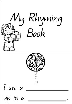 Rhyming Sentences Booklet and Teacher Pages