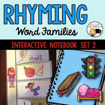 Rhyming Interactive Notebook- Set 2