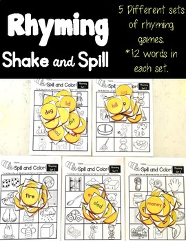 Rhyming Shake and Spill!