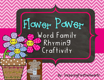 Rhyming Short Vowel Word Families Center Activity