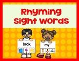 Rhyming Sight Words