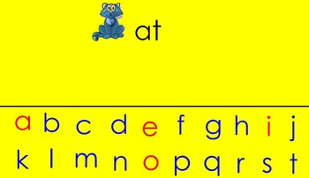 Rhyming Smart Notebook for Kindergarten