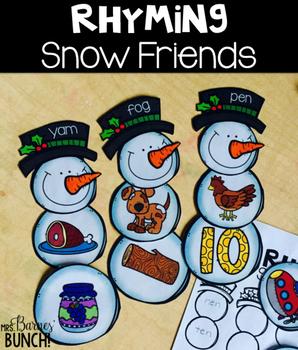 Rhyming Snow Friends