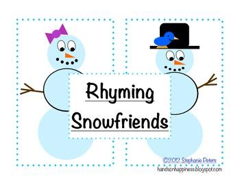 Rhyming Snowfriends